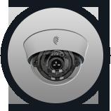 AHD-Видеокамеры купольные